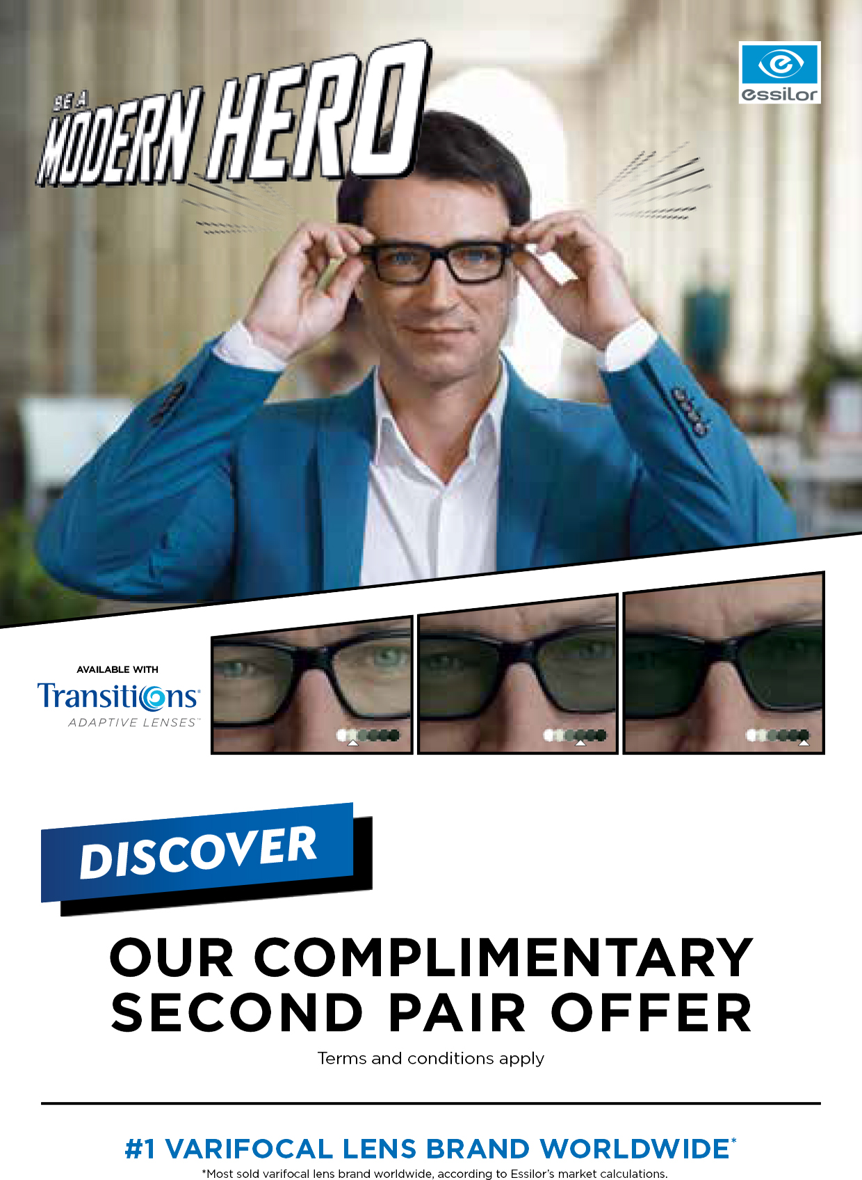 Get a FREE second pair of lenses