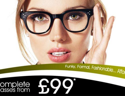 Frame & Lenses – Only £99