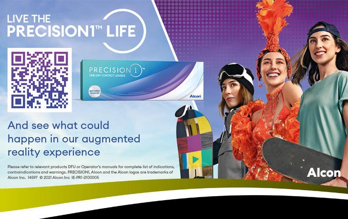 Alcon Precision 1 contact lenses
